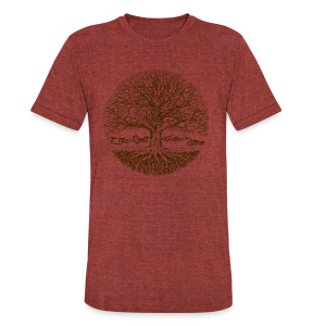 Roots - Unisex Tri-Blend T-Shirt by American Apparel