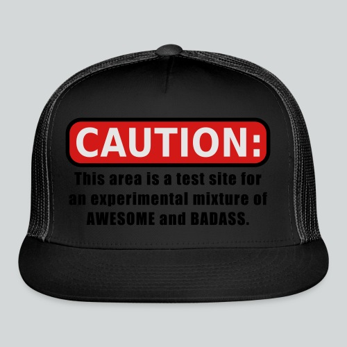 Awesome and Badass - Trucker Cap