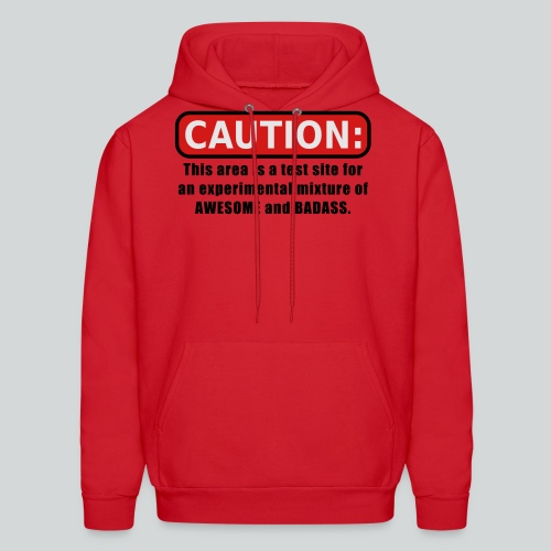 Awesome and Badass - Men's Hoodie