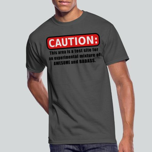 Awesome and Badass - Men's 50/50 T-Shirt