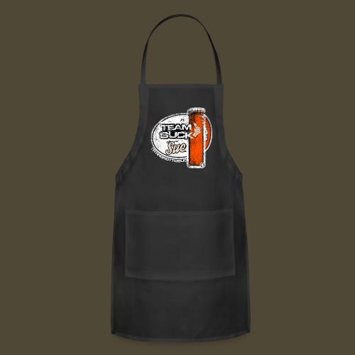 Team Suck Front And Back  - Adjustable Apron