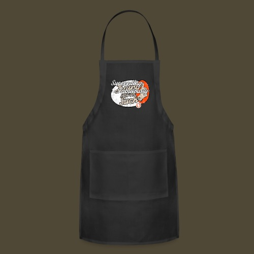 Succeeding Fabulously Front And Back - Adjustable Apron