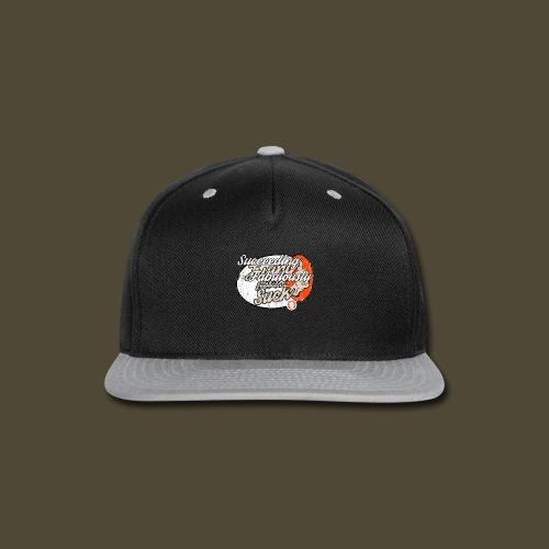 Succeeding Fabulously Front And Back - Snap-back Baseball Cap