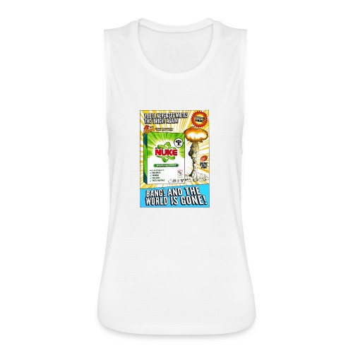 NUKE Apron - Women's Flowy Muscle Tank by Bella
