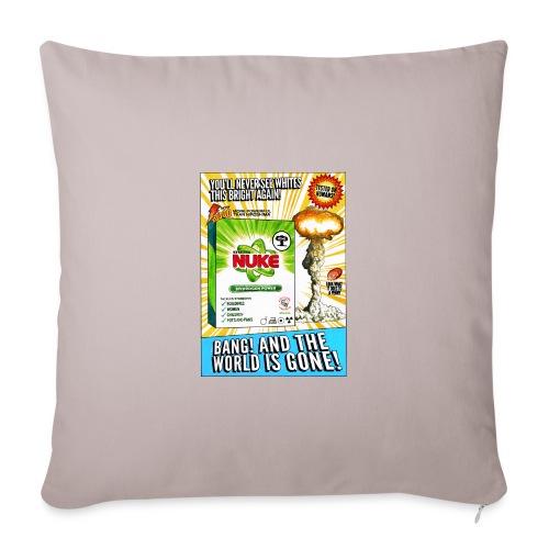 NUKE Apron - Throw Pillow Cover