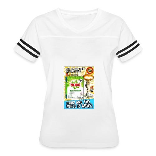 NUKE Apron - Women's Vintage Sport T-Shirt