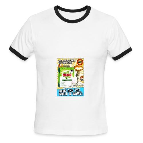 NUKE Apron - Men's Ringer T-Shirt