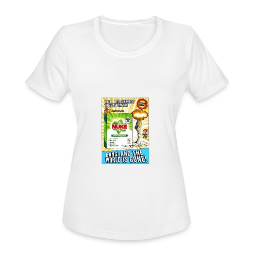 NUKE Apron - Women's Moisture Wicking Performance T-Shirt
