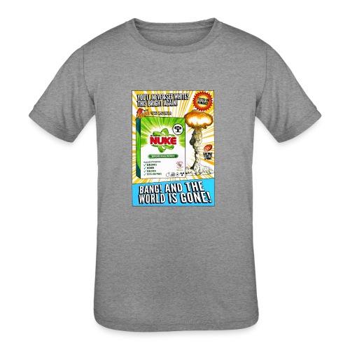 NUKE Apron - Kid's Tri-Blend T-Shirt