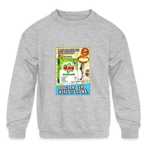 NUKE Apron - Kids' Crewneck Sweatshirt