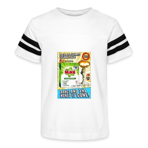 NUKE Apron - Kid's Vintage Sport T-Shirt