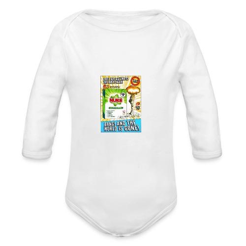 NUKE Apron - Organic Long Sleeve Baby Bodysuit