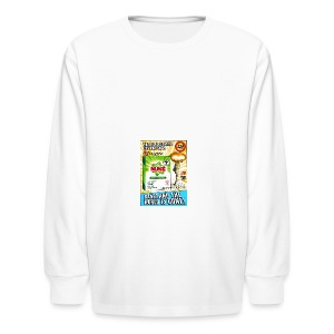 NUKE Apron - Kids' Long Sleeve T-Shirt