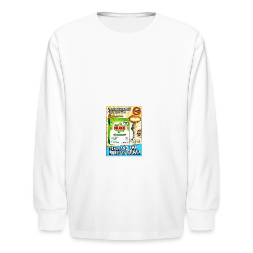 NUKE Apron - Kids' Long Sleeve T-Shirt