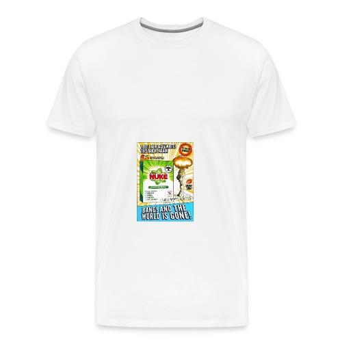 NUKE Apron - Men's Premium T-Shirt