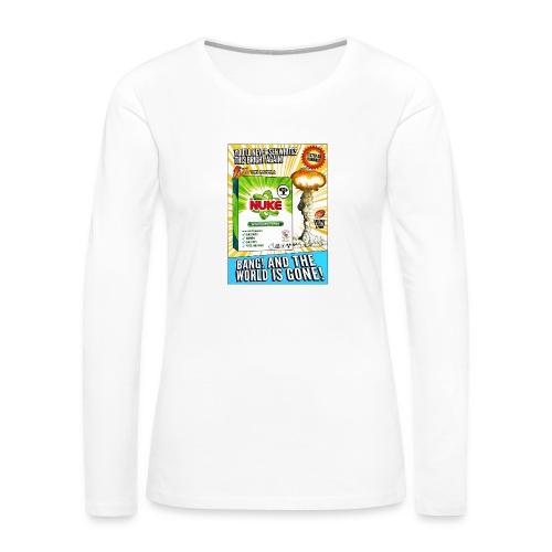 NUKE Apron - Women's Premium Long Sleeve T-Shirt