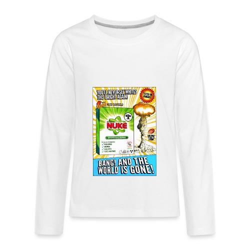 NUKE Apron - Kids' Premium Long Sleeve T-Shirt