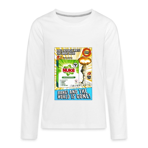 NUKE Apron - Kids' Premium Long Sleeve T-Shirt