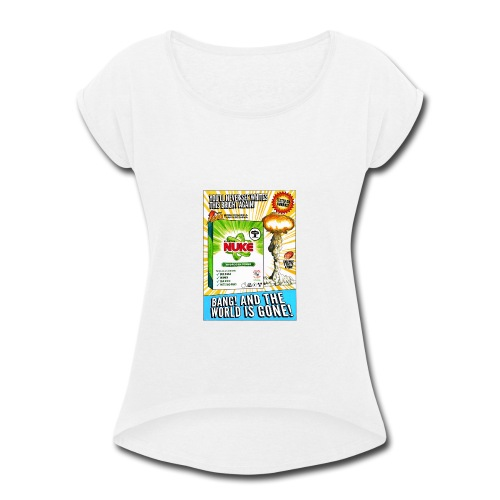 NUKE Apron - Women's Roll Cuff T-Shirt