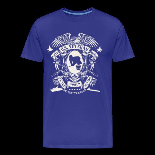 US Veteran - Men's Premium T-Shirt