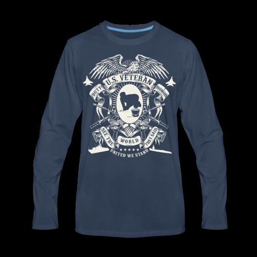 US Veteran - Men's Premium Long Sleeve T-Shirt