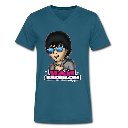 hsologo - Men's V-Neck T-Shirt by Canvas
