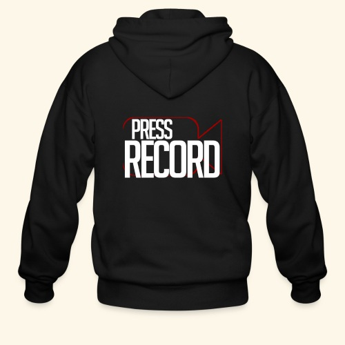 Press Record - Men's Zip Hoodie