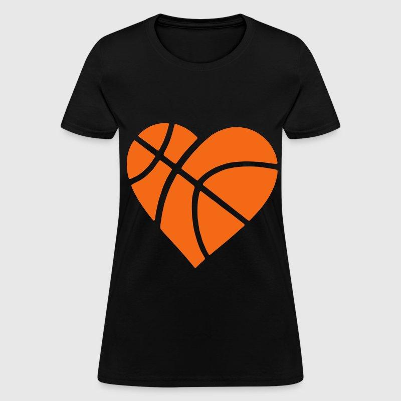 Heart Basketball T Shirt Spreadshirt