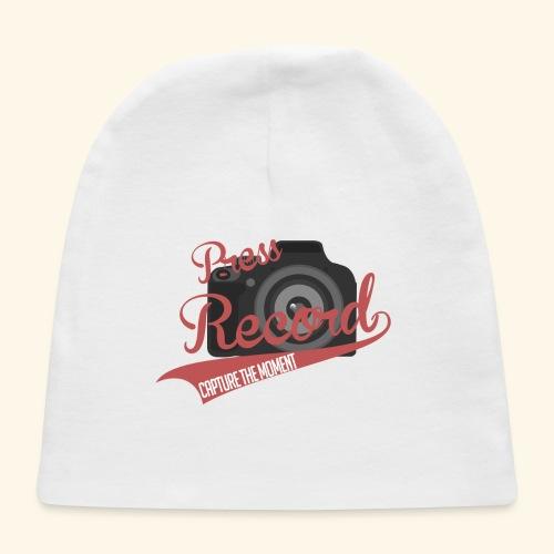 Press Record Baseball T - Baby Cap