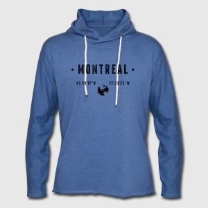 Montreal T-Shirts - Unisex Lightweight Terry Hoodie