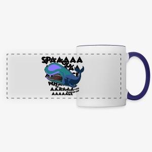 F*** YOU Space Whale - Panoramic Mug
