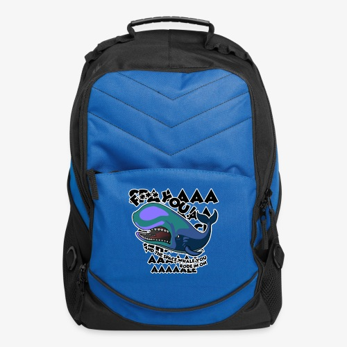 F*** YOU Space Whale - Computer Backpack