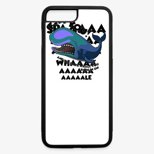 F*** YOU Space Whale - iPhone 7 Plus/8 Plus Rubber Case