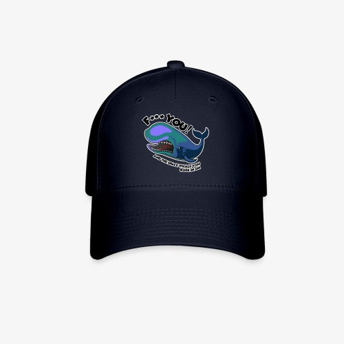 F*** YOU Space Whale - Baseball Cap