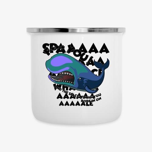 F*** YOU Space Whale - Camper Mug
