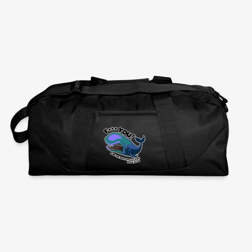 F*** YOU Space Whale - Duffel Bag