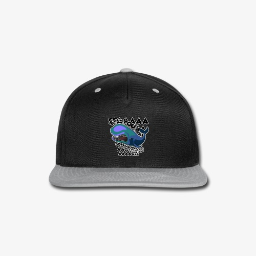 F*** YOU Space Whale - Snap-back Baseball Cap