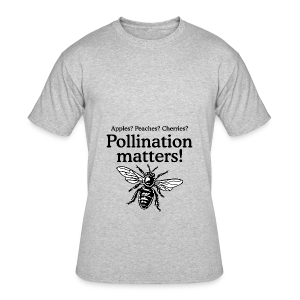 Pollination Matters Beekeeper Flowy Tank Top - Men's 50/50 T-Shirt