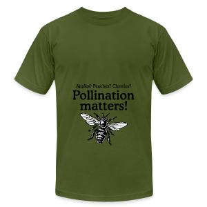Pollination Matters Beekeeper Flowy Tank Top - Men's T-Shirt by American Apparel