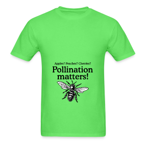 Pollination Matters Beekeeper Flowy Tank Top - Men's T-Shirt
