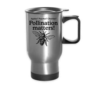 Pollination Matters Beekeeper Flowy Tank Top - Travel Mug