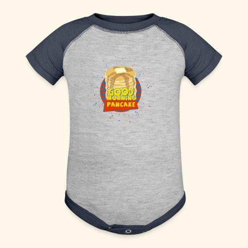 Goodmorning Pancake  - Contrast Baby Bodysuit
