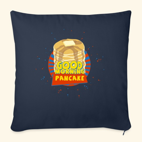 """Goodmorning Pancake  - Throw Pillow Cover 18"""" x 18"""""""