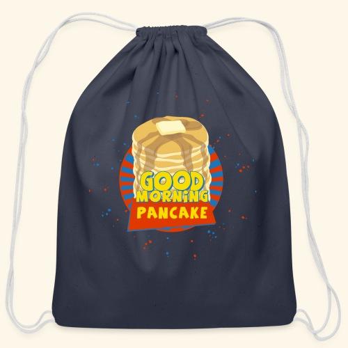 Goodmorning Pancake  - Cotton Drawstring Bag