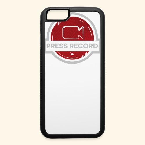Press Record Button - iPhone 6/6s Rubber Case