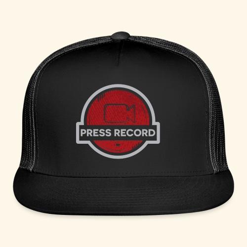 Press Record Button - Trucker Cap