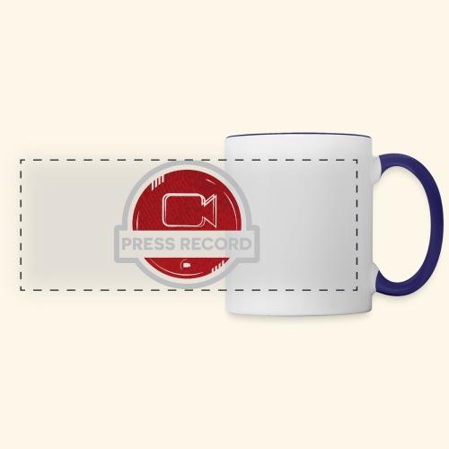 Press Record Button - Panoramic Mug