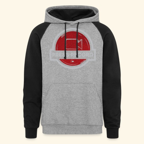 Press Record Button - Colorblock Hoodie