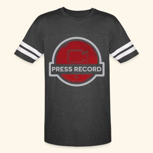 Press Record Button - Vintage Sport T-Shirt