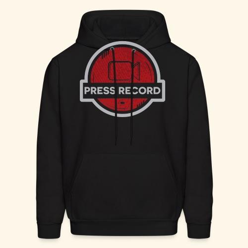 Press Record Button - Men's Hoodie